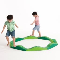 Weplay 波浪触觉步道-绿光森林