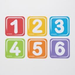 edusante 磁力车牌-数字